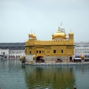 il sacro tempio dei Sikh ad Amritsar